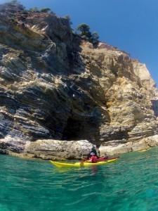 Kayaking the Sporades islands