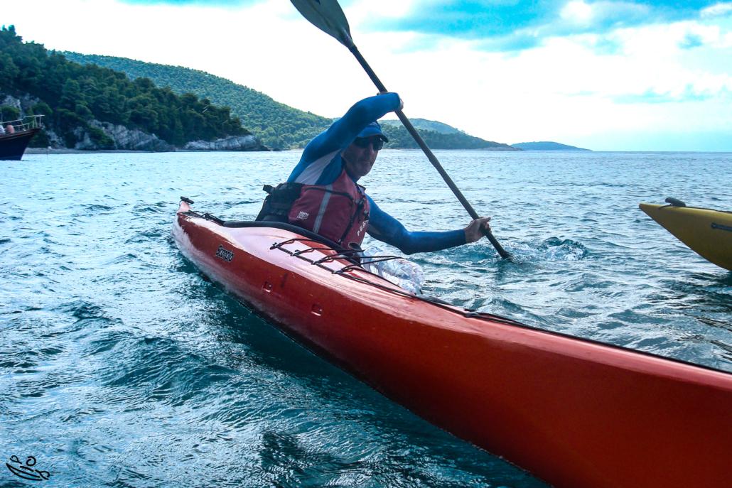 Passing My 5 Star Sea Kayak Assessment Kayaking Greece